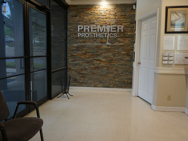 Premier Prosthetics Lobby in San Antonio, Texas