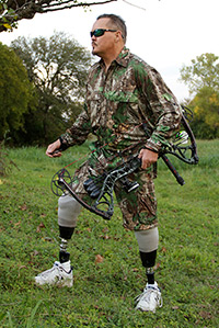 David Pearson bow hunting - testimony on Premier Prosthetics in San Antonio
