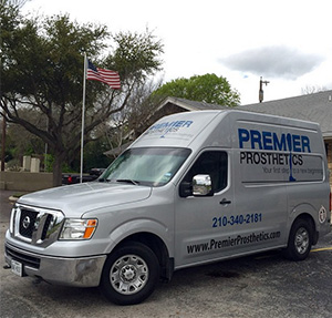 Premier Prosthetics in San Antonio, TX mobile unit